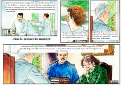 13 – Dans le cabinet du ministre