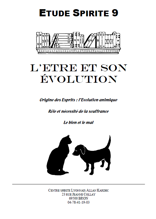 Etude n°9 - L'Evolution animique