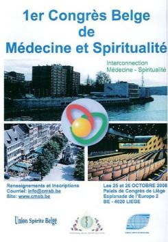 1er congrès médecine et spiritualité